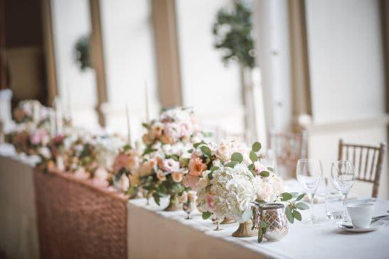 Hochzeitsdeko Tisch